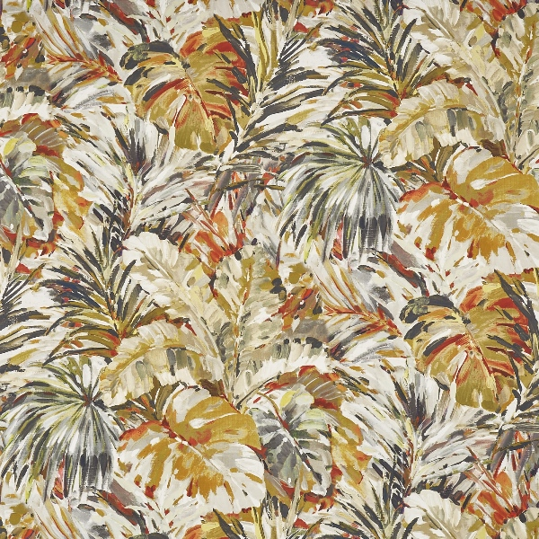 Palmyra Papaya  100% Cotton  Approx. 137cm | 118cm  Curtaining
