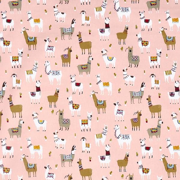 Alpaca Bon Bon  100% Cotton  Approx. 137cm | 64cm  Curtaining