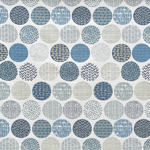 Casa Indigo  100% Cotton  Approx. 137cm | 64cm  Curtaining