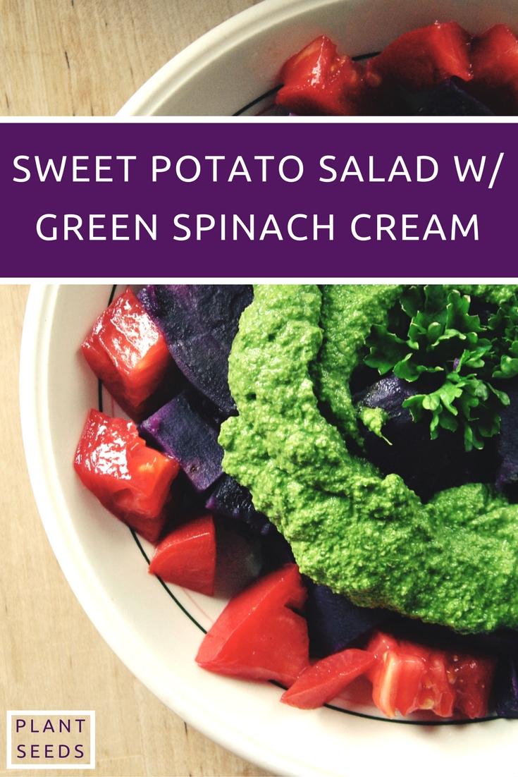 sweet-potato-salad-w-green-spinach-cream