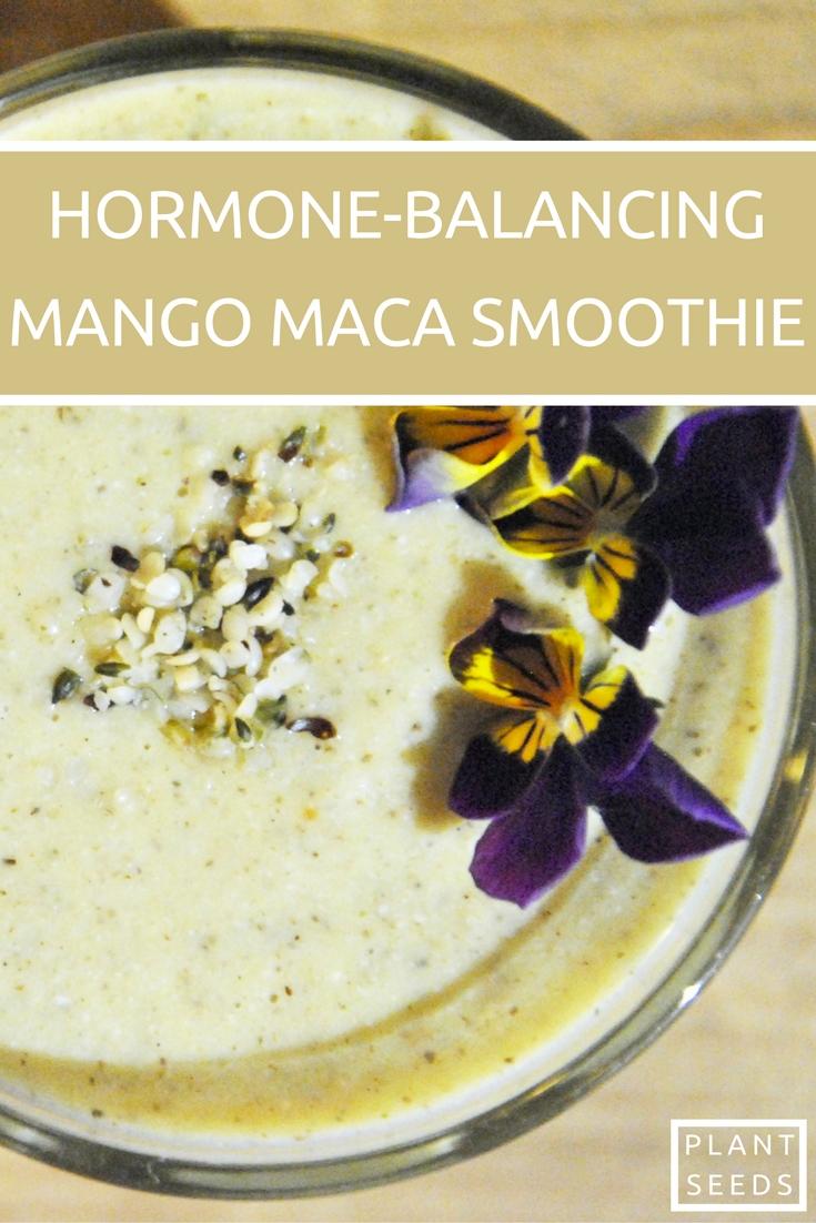 hormone-balancing-mango-maca-smoothie