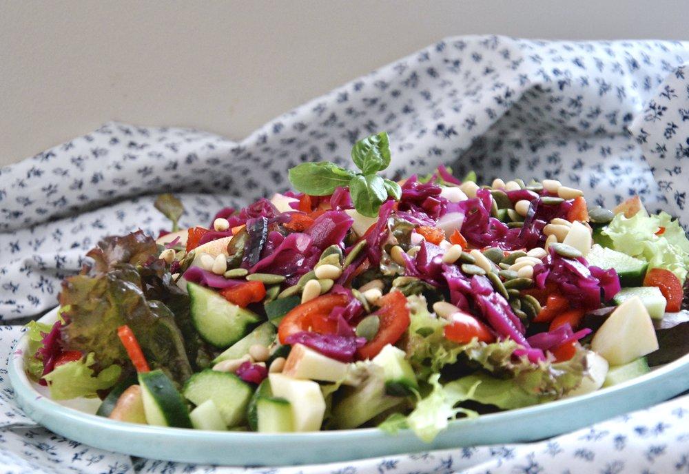pink-sauerkraut-salad