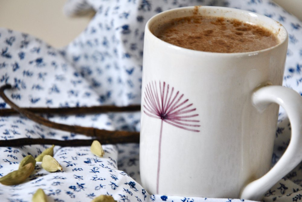 Spicy Hot Chocolate (raw vegan)