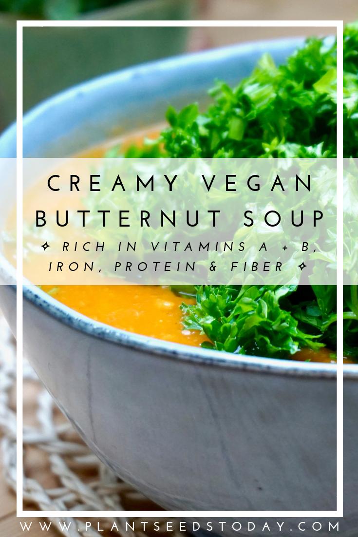 Creamy Vegan Butternut Soup