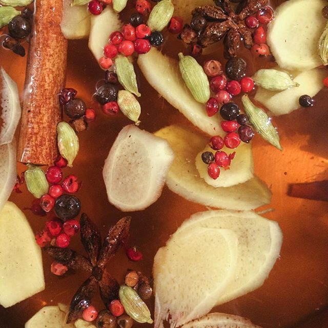 We have hot spiced apple cider back in time for the autumn weather. #spiced #applecider