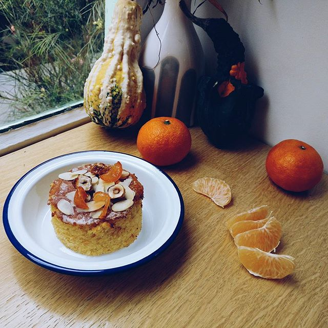 The long awaited #clementinecake season has arrived! #glutenfree #citrus #winteriscoming 🍊