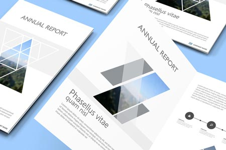 ANNUAL REPORTS As well as delivery of your financial data, an annual report is a great opportunity to showcase your brand. Our in-house design team has some great ideas to deliver a first class result.