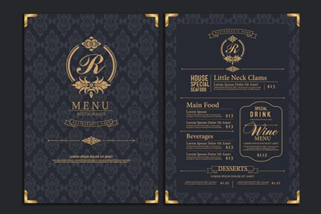 MENUS Whether you are running a restaurant or hotel, an excellent quality printed menu sets your business apart from your competitors. Either send us the artwork for your menu or ask our studio to help you design an eye catching layout.