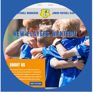 Wychall Wanders Junior Football Club - www.wychallwanderers.wixsite.com/footballclub