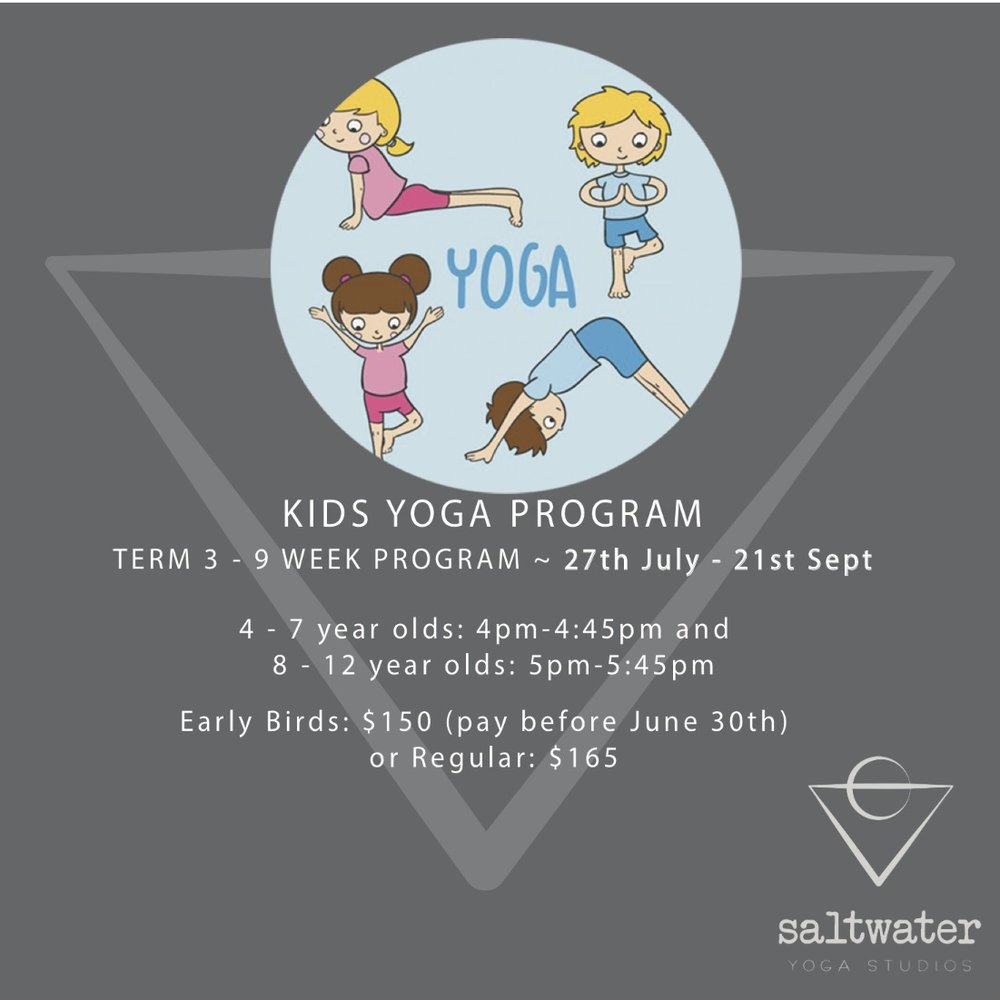 Kids Yoga - with Yola Barbounis