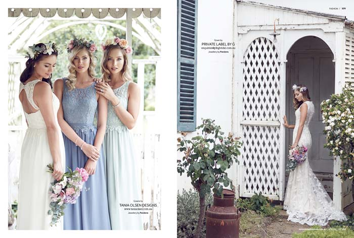 LEFT -  Tania Olsen Designs   RIGHT -  Private Label By G