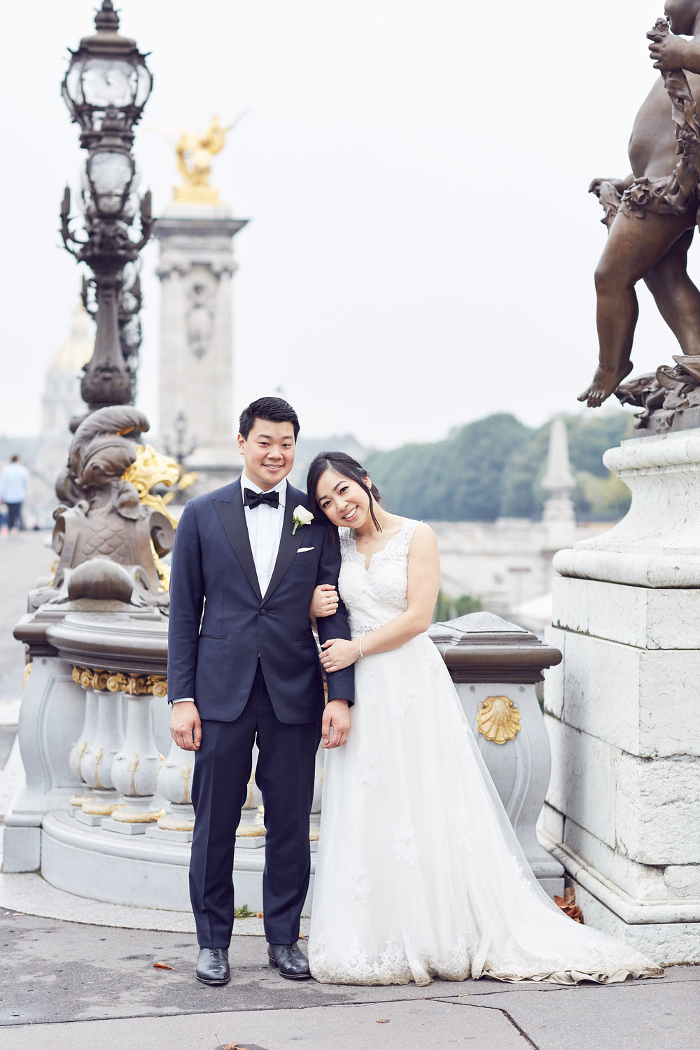 Pont Du Alexandre Paris Wedding photos Lost In Love Photography