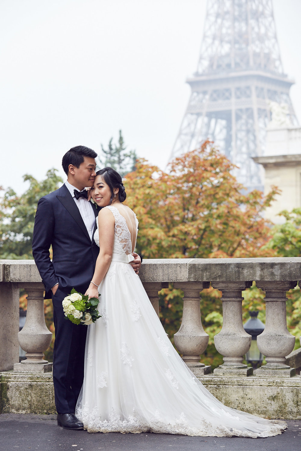 Eiffel tower Paris Wedding photos Lost In Love Photography