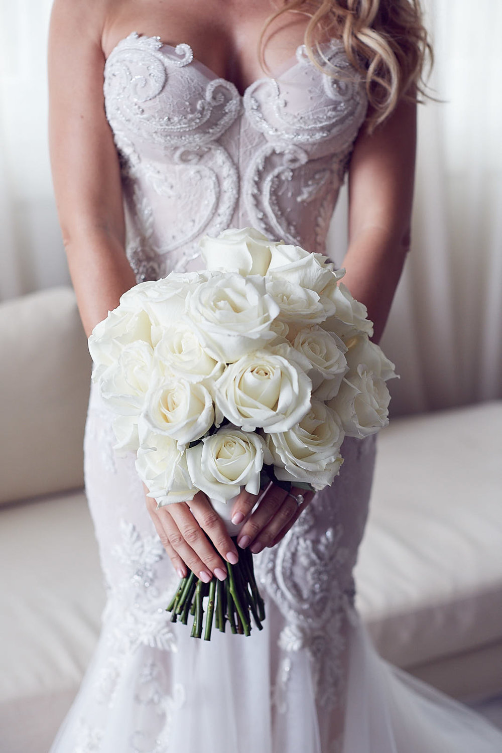 Steven Khalil wedding dress destination wedding photo by lost in love