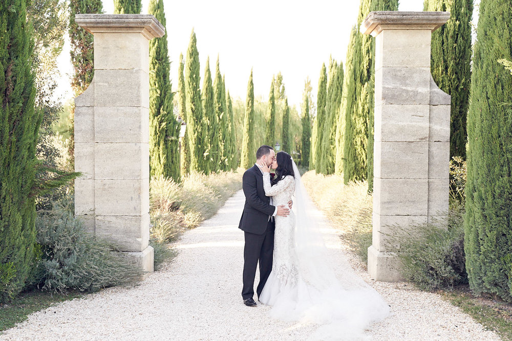 Borgo Santo Pietro Wedding Tuscany. Marchesa wedding gown. Lost In Love Photography #destinationwedding