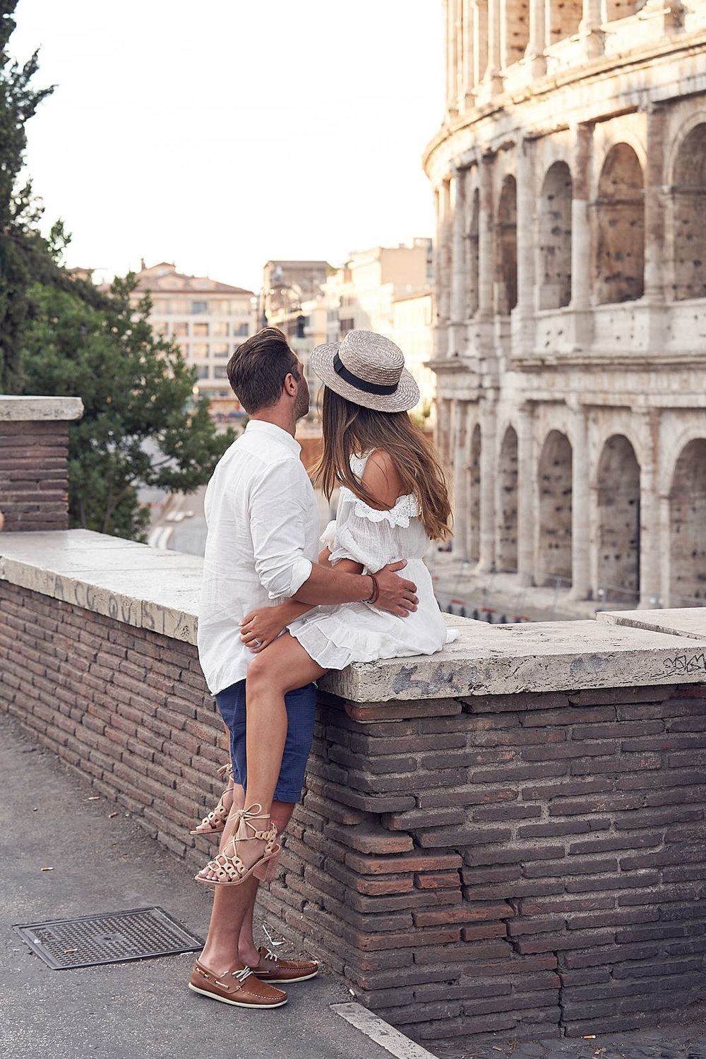 Rome Honeymoon lovers shoot by Lost In Love Photography