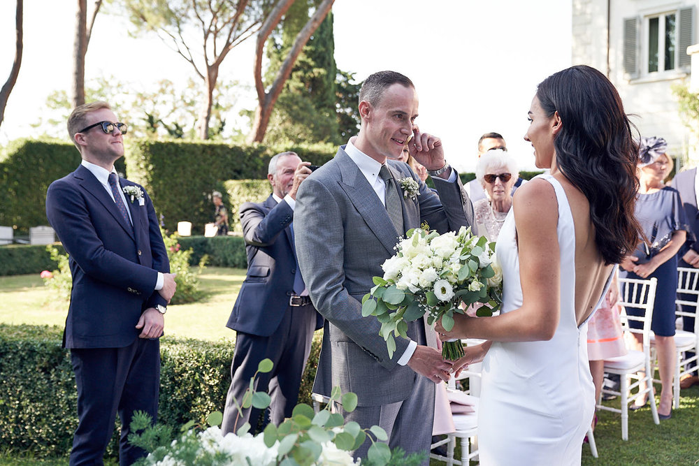 Villa Vedetta Florence wedding photos by Lost In Love Photography