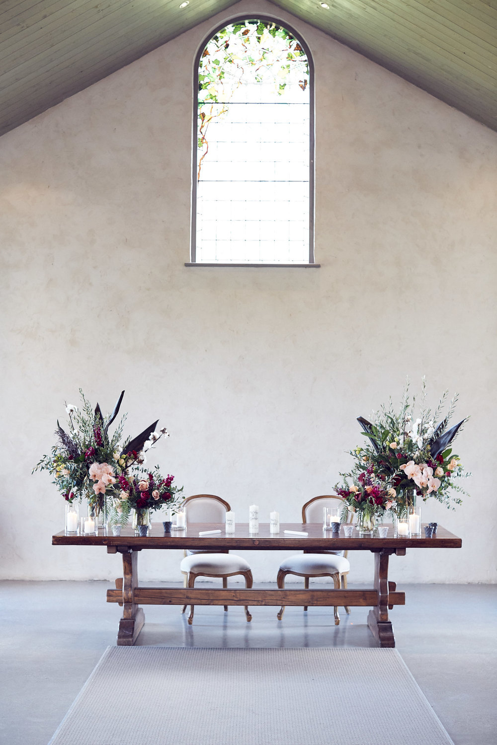 stones of the yarra valley wedding photo the chapel