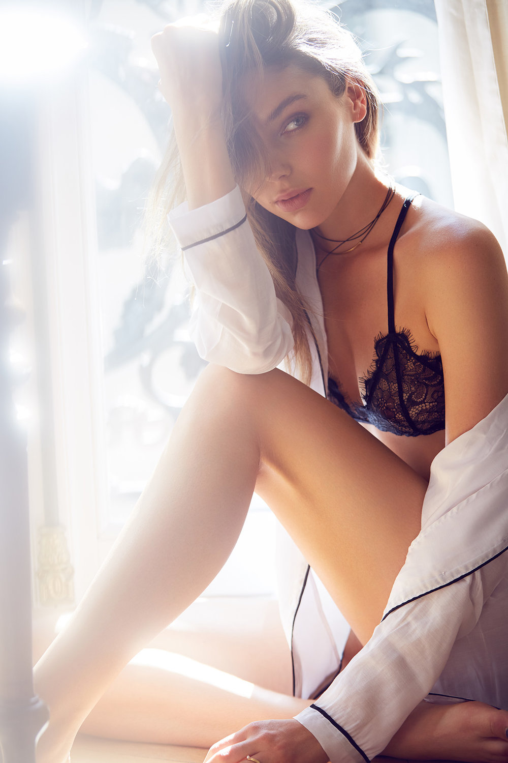 Paris Lingerie Photo shoot by Lost In Love