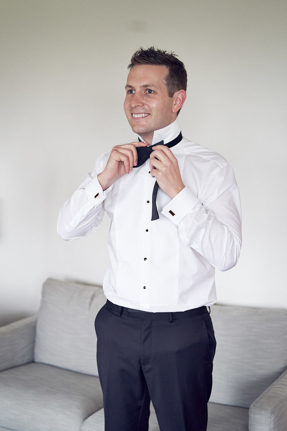 J & S Port Phillip Estate Wedding by Lost In Love Photography. #groom