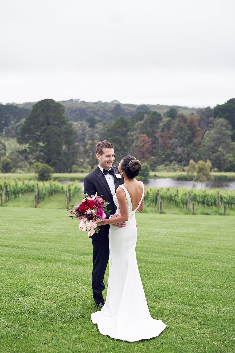 J & S Port Phillip Estate Wedding by Lost In Love Photography. #brideandgroom
