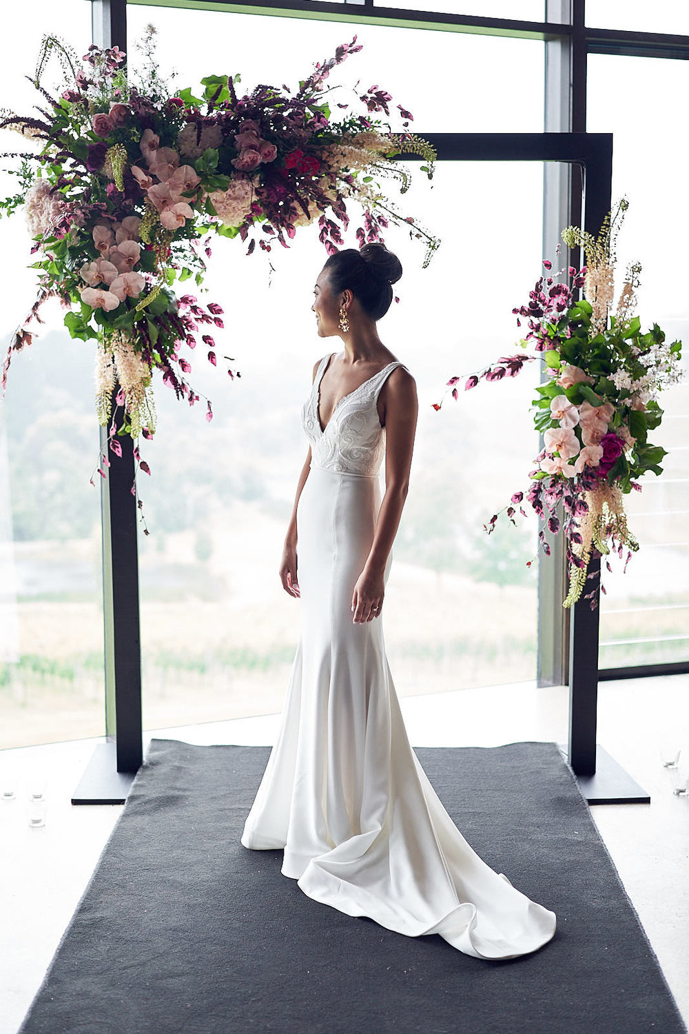 J & S Port Phillip Estate Wedding by Lost In Love Photography. #bride