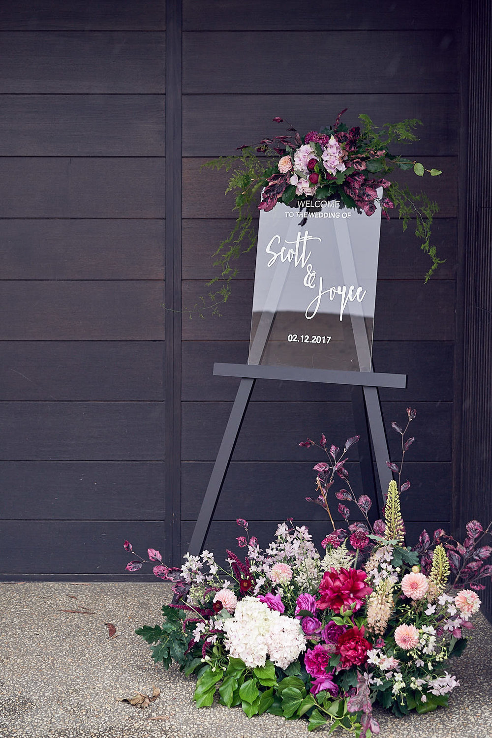 J & S Port Phillip Estate Wedding by Lost In Love Photography. #weddingsign