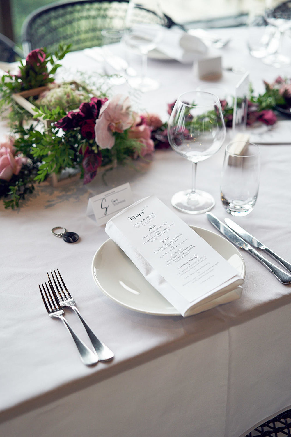 J & S Port Phillip Estate Wedding by Lost In Love Photography. #tablescape