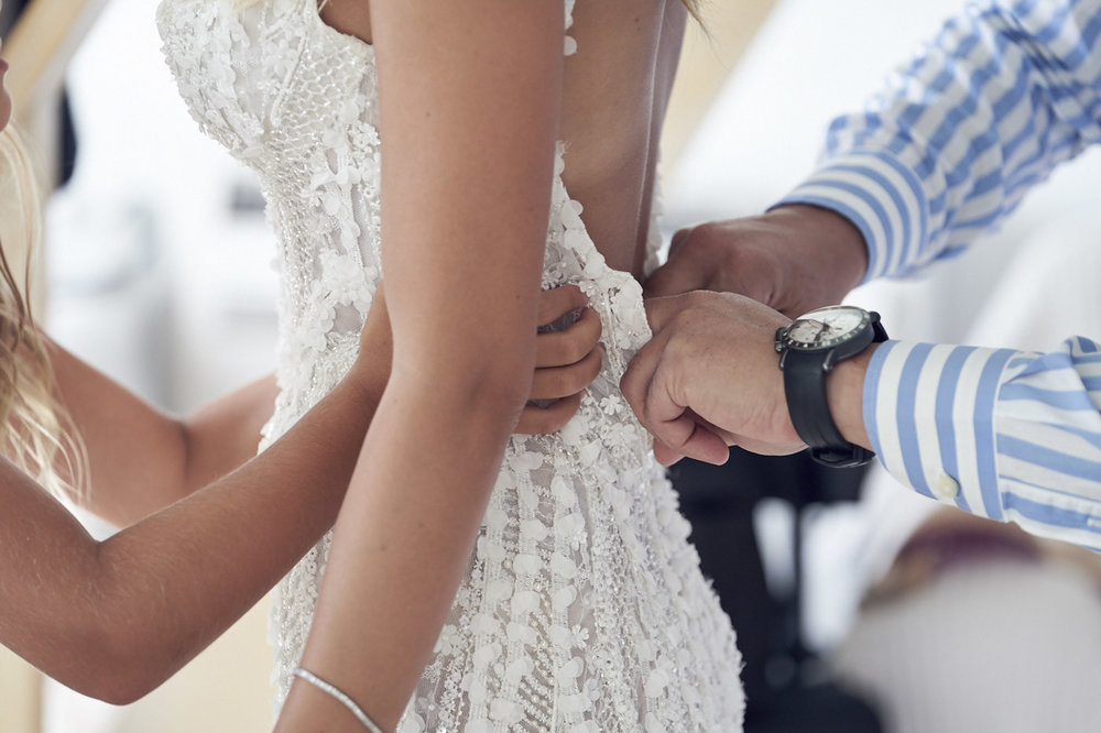 Beautiful Santorini Wedding. Pallas Couture. Lost In Love Photography