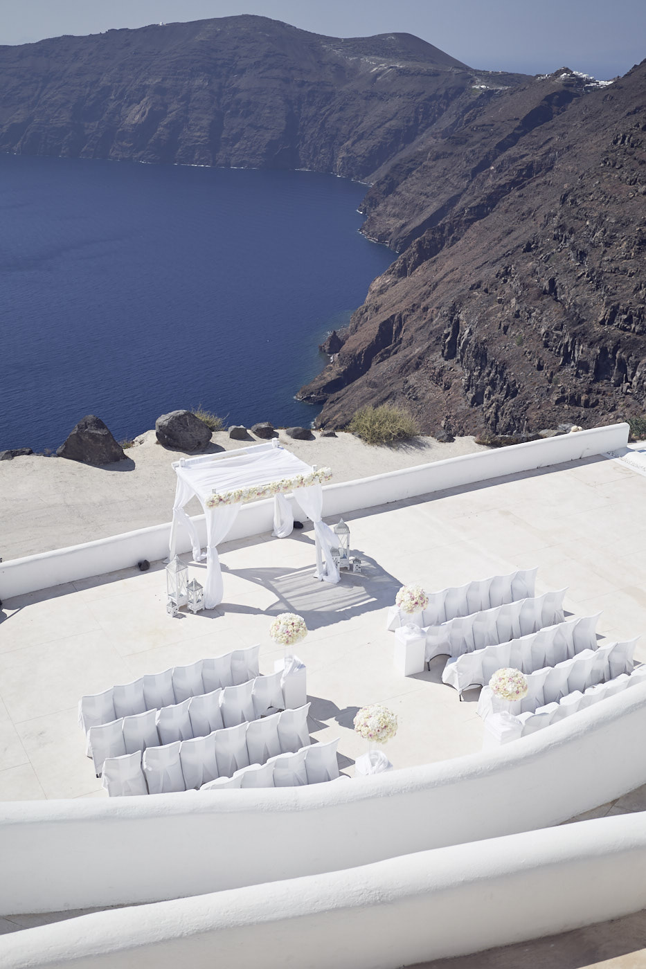 Beautiful Santorini Wedding at rocabella. Lost In Love Photography
