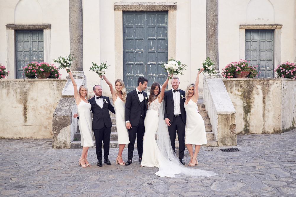 Intimate wedding, Belmond Hotel Caruso Ravello, by lost in love photography