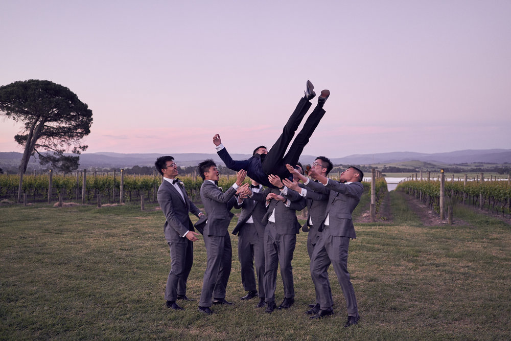 stones of the yarra valley wedding by Lost In Love Photography