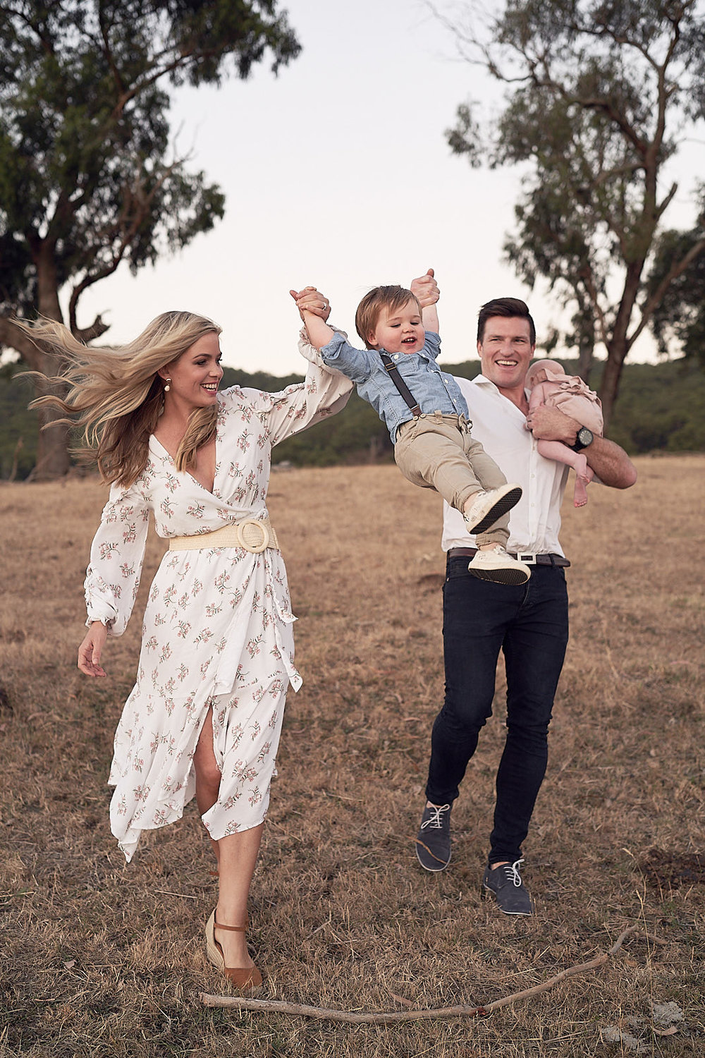 Family Portrait Photography Yarra Valley by Lost In Love Photography