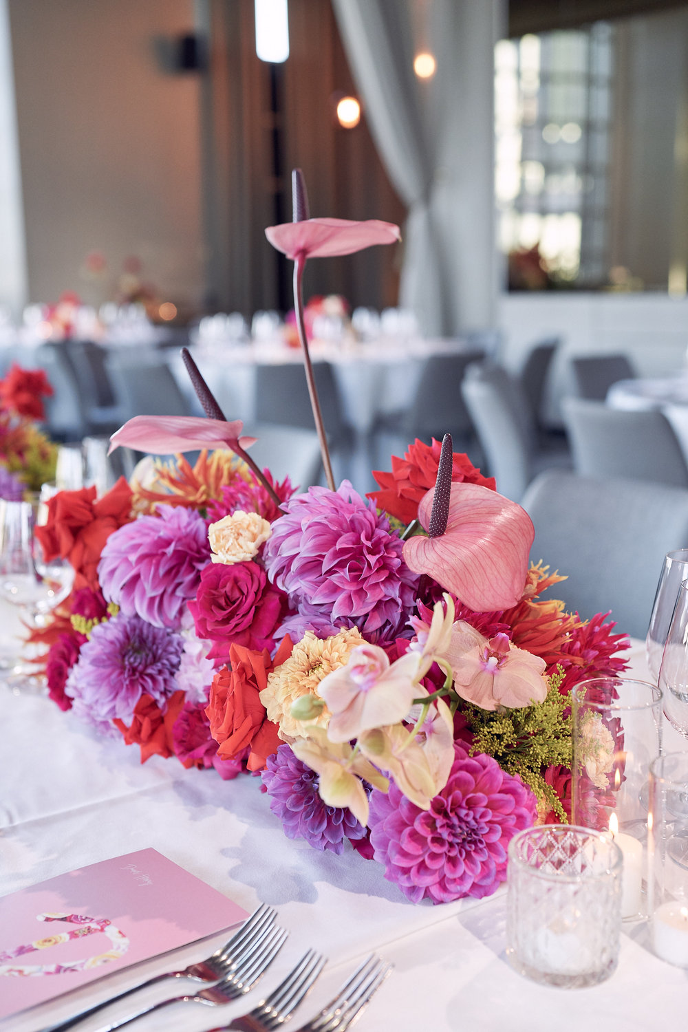 Melbourne Metropolis wedding reception styling photo by lost in love photography