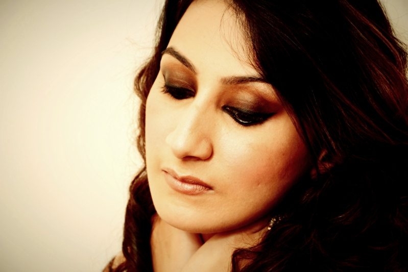 Black Brown Smokey Eyes by Parul Garg