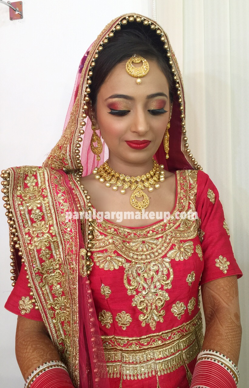 Sikh Bridal Makeup by Parul Garg