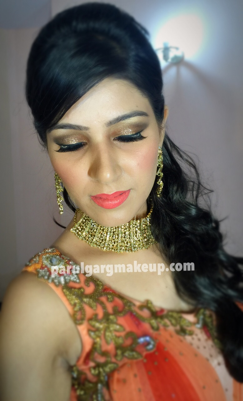 Engagement Makeup by Parul Garg