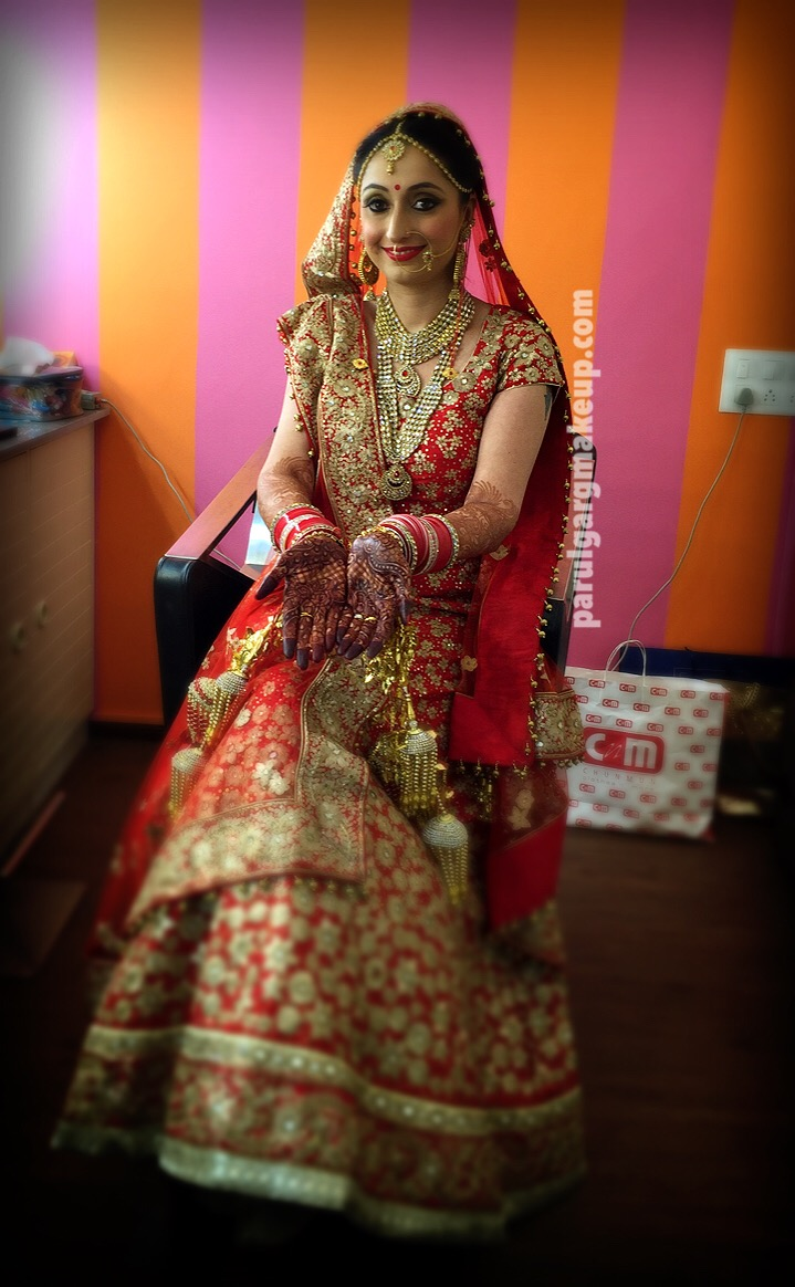 North Indian Bride by Parul Garg