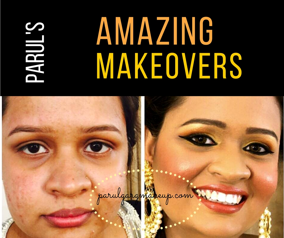 Makeup can do wonders. And with Parul's expertise, you don't have to worry about pimple marks, patchy skin, hyper pigmentation, little zits, dark circles or other blemishes on your face. See some of the most amazing transformations Parul can give you. Explore the Gallery.