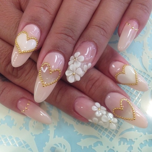 3d Nail Art Designs Bows Absolute Cycle