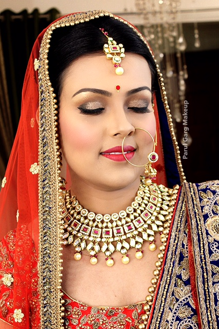 Beautiful Indian Bridal makeup by Parul Garg