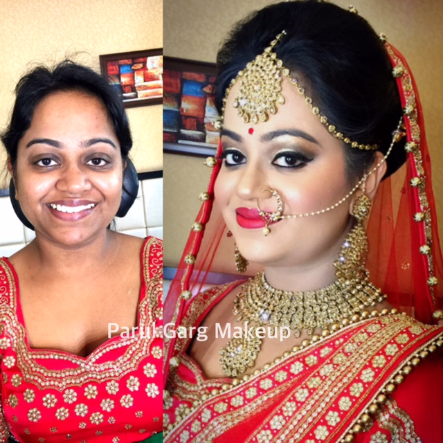 Bridal Makeover by Parul Garg