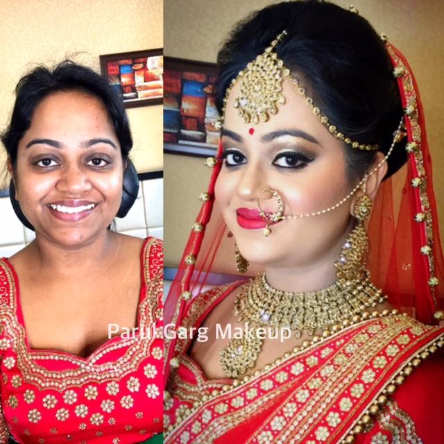 Bridal Makeover by Parul Garg