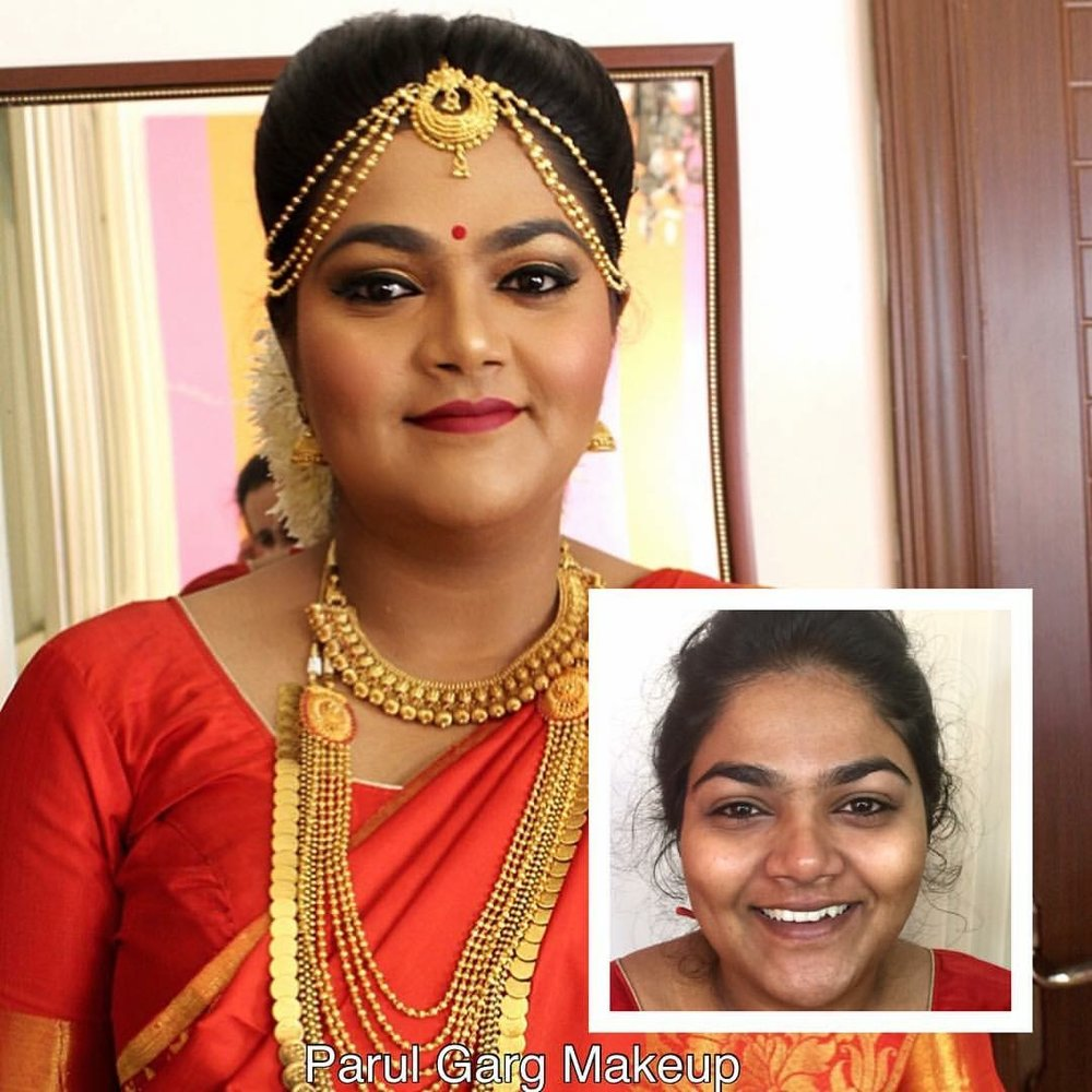 South Indian Bridal Makeover by Parul Garg