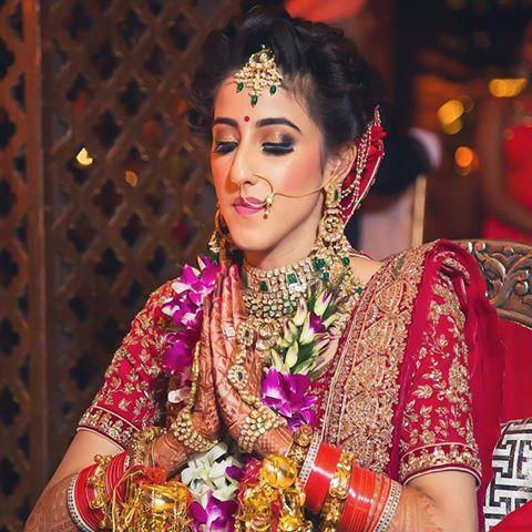 Indian Bridal Airbrush Makeup by Parul Garg