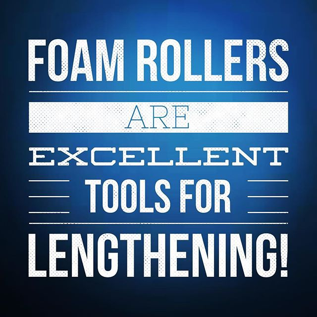By themselves, rolling and smashing are excellent at lengthening the amount of time it takes create a lasting change in your range of motion.  They are also great at lengthening the duration of your warm up and are highly effective at lengthening your recovery from injury if used as a treatment.  However, they will not lengthen tissue in any way. #foamroller #crossfit #mobility #wod #movement #dptstudent #physicaltherapy #chiropractor