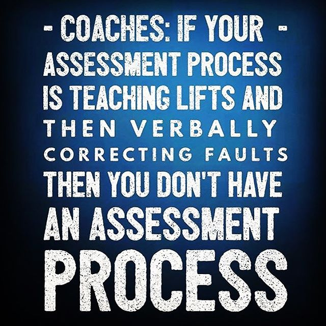 #tbt As a coach, assessing and improving your athletes function is the most powerful thing you can do. Physiology is cheap, Movement is priceless!  Programming is a commodity in the Information Age. It can be purchased online from experts.  Fitness measures will improve in the face of poor movement . What your athletes need is a coach that can assess function, identify weak links, and improve movement quickly. Movement is the foundation upon which all future success will be built. #crossfitcoach #crossfit #mastery #assessment #fitnesscoach #fitness #functionalfitness #movement #mobility