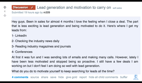 Avoiding burnout and staying motivated with Lead Generation in 3 ways