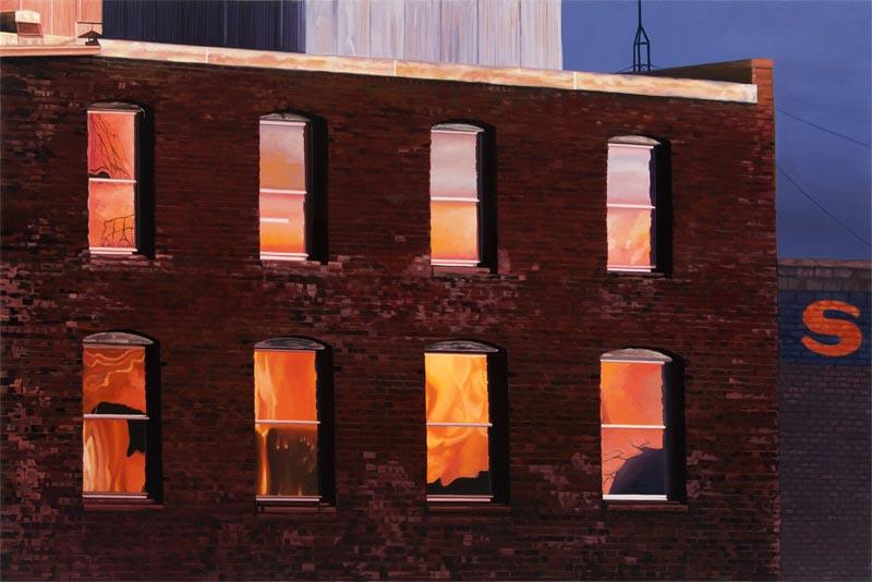 """""""Warehouse Sunset"""""""
