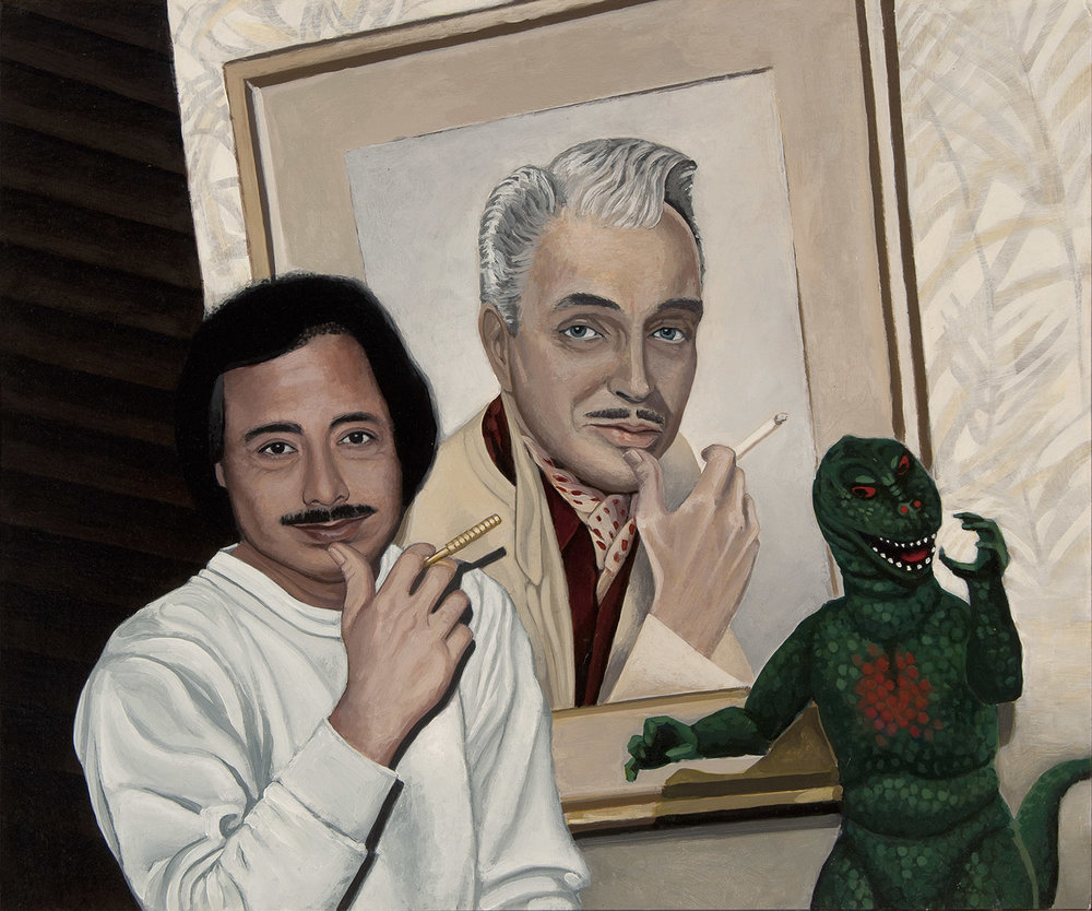 """George, Ralph and Godzilla"""